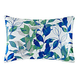 KAS® Australia Cinder Standard Pillow Sham in Green/White