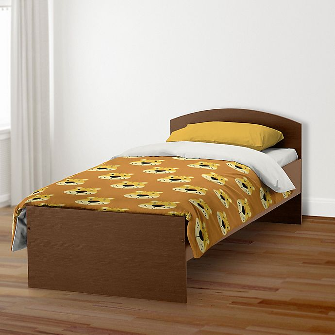 Alternate image 1 for Designs Direct Lion Face Friend Bedding Collection