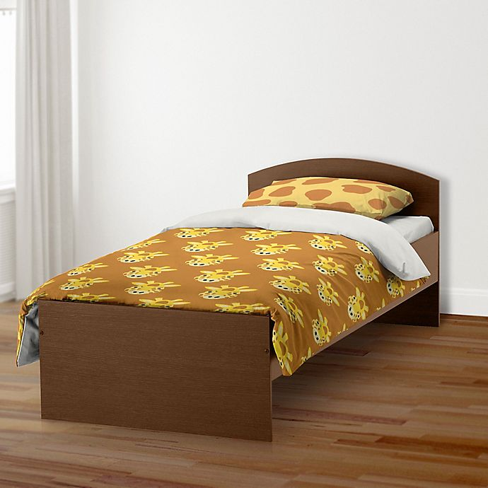 Alternate image 1 for Designs Direct Giraffe Face Friend Bedding Collection