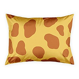 Designs Direct Giraffe Face Friend Standard Pillow Sham