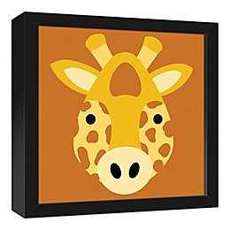 Designs Direct Framed Giraffe Face Friend Canvas Art