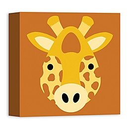 Designs Direct Giraffe Face Friend Canvas Art