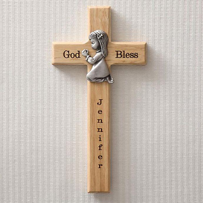 Alternate image 1 for Praying Child Wall Cross