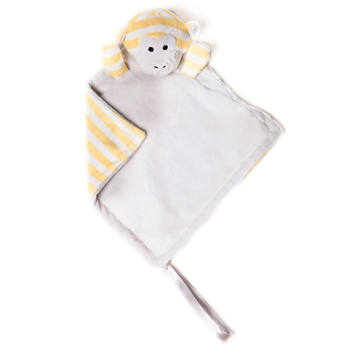 Alternate image 1 for Bella Tunno™ Monkey Pacifier Lovie in Yellow/Grey