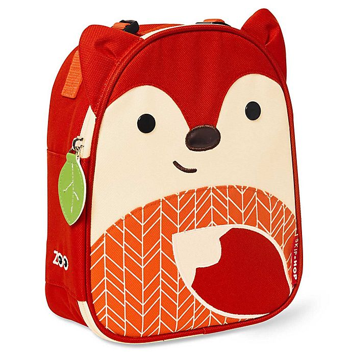 Alternate image 1 for SKIP*HOP® Zoo Red Fox Insulated Lunchie