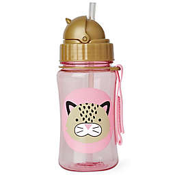 SKIP*HOP® Zoo 12 oz. Leopard Straw Bottle