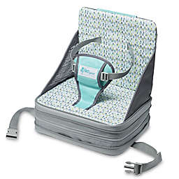 The First Years™ On the Go Booster Seat in Grey/Aqua