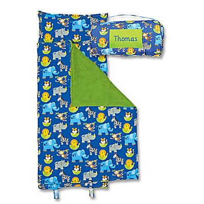 Stephen Joseph® Zoo Print  Nap Mat in Blue