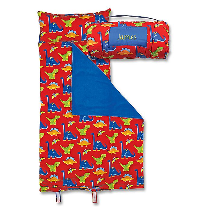 Alternate image 1 for Stephen Joseph® Dino Print  Nap Mat in Blue