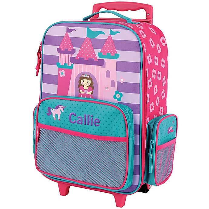 Alternate image 1 for Stephen Joseph® Castle Rolling Luggage in Pink