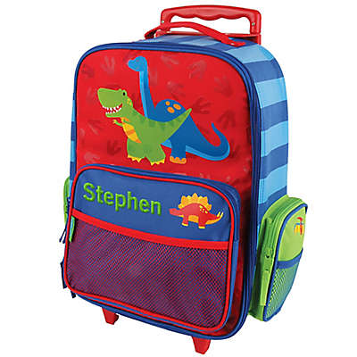 Stephen Joseph® Dino Rolling Luggage in Blue