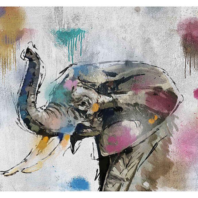 Alternate image 1 for PTM Images Safari Graffiti I 38-Inch x 28-Inch Canvas Wall Art