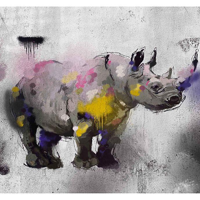 Alternate image 1 for PTM Images Safari Graffiti II 38-Inch x 28-Inch Canvas Wall Art