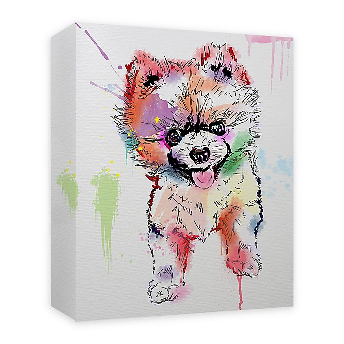 Alternate image 1 for Pomie Paint 16-Inch x 20-Inch Canvas Wall Art