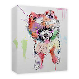 Pomie Paint 16-Inch x 20-Inch Canvas Wall Art