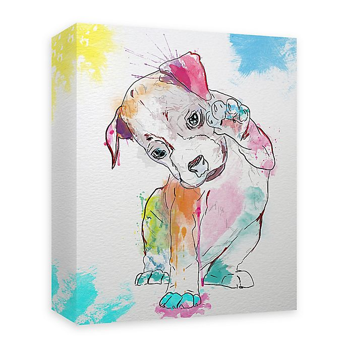 Alternate image 1 for Boxer Paint 16-Inch x 20-Inch Canvas Wall Art