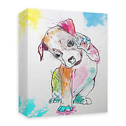 Boxer Paint 16-Inch x 20-Inch Canvas Wall Art