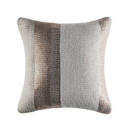 KAS® Australia Ebony Toma Square Throw Pillow in Tan