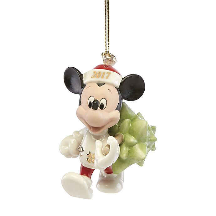 lenox 2017 disney trimming the tree mickey christmas ornament
