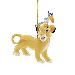 Lenox® Disney® Lion King Simba and Zazu Christmas Ornament