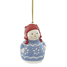 Lenox® Christmas Sweater Ornament™ Snowman