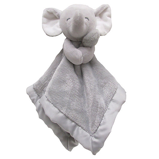 Alternate image 1 for carter's® Elephant Snuggie in Grey