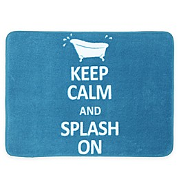 17-Inch x 24-Inch Keep Calm Bath Mat