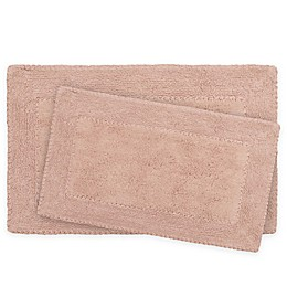 Laura Ashley Ruffle Bath Rugs (Set of 2)