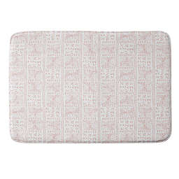 Deny Designs Rose Bud Mud Cloth Memory Foam Bath Mat