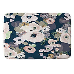 Deny Designs Howell Une Femme In Blue Memory Foam Bath Mat