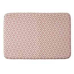 Deny Designs 17-Inch x 24-Inch Howell Nina in Pink Memory Foam Bath Mat in Pink