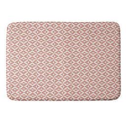 Deny Designs 17-Inch x 24-Inch Howell Nina in Pink Memory Foam Bath Mat in Pink