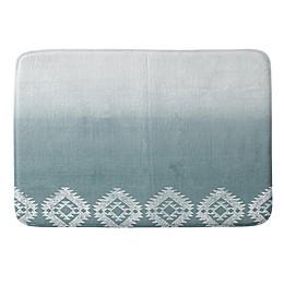 Deny Designs® 24-Inch x 36-Inch Dash and Ash Memory Foam Bath Mat in Pink