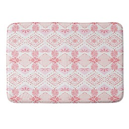 Deny Designs 24-Inch x 36-Inch Strawberry Picnic Memory Foam Bath Mat