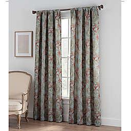 Collette Print Rod Pocket Window Curtain Panel