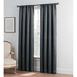 Collette Solid Rod Pocket Window Curtain Panel