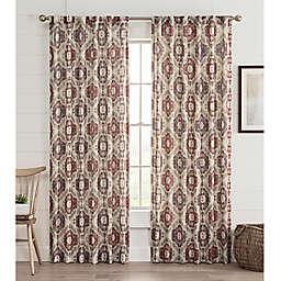 Lahire Print Rod Pocket Window Curtain Panel