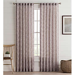 Lashire Rod Pocket Window Curtain Panel