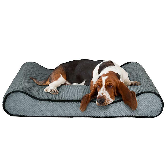 Alternate image 1 for Petmaker Orthopedic Pet Lounger in Blue