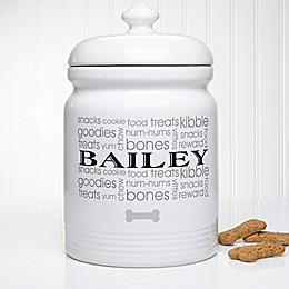 Doggie Delights Treat Jar