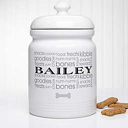 Doggie Delights Treat Jar