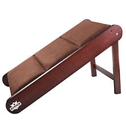 PETMAKER Foldable Pet Ramp in Brown