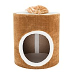 Petmaker Single Barrel Cat Condo in Brown/White