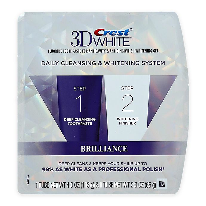 Alternate image 1 for Crest® 3D White™ Brilliance Daily Cleansing & Whitening System