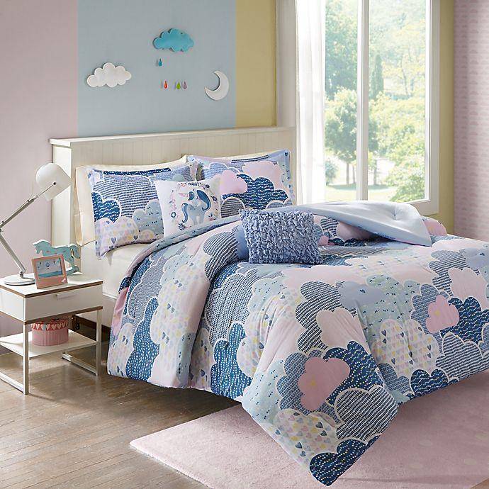 Alternate image 1 for Urban Habitat Kids Cloud Twin/Twin XL Comforter Set in Purple