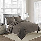 Bridge Street Lexington Queen Coverlet in Mocha