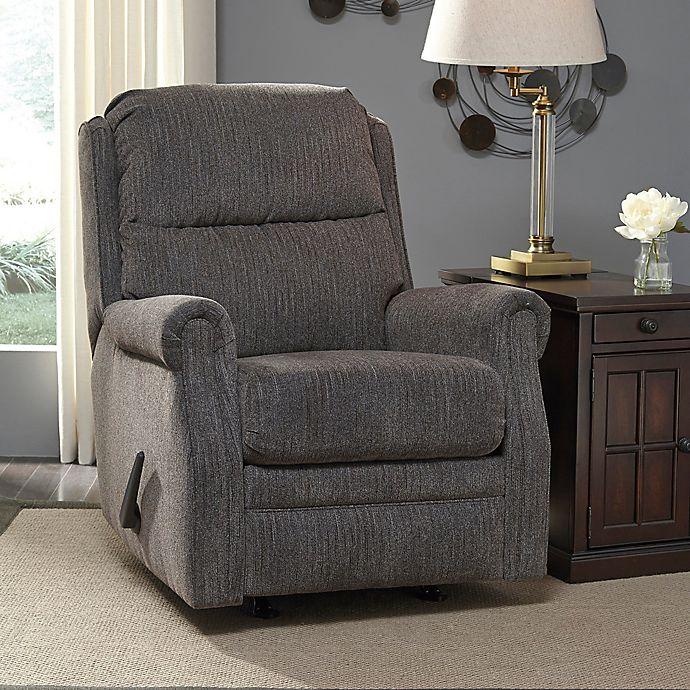 Fine Flash Furniture Fabric Rocker Recliner Bed Bath Beyond Machost Co Dining Chair Design Ideas Machostcouk