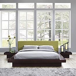 Modway Freja 3-Piece Queen Upholstered Bedroom Set
