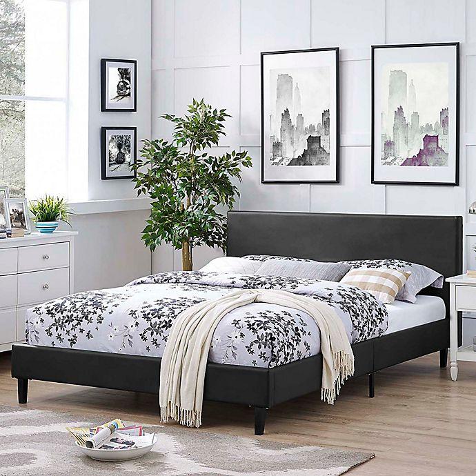 Modway Anya Upholstered Platform Bed Bed Bath Beyond