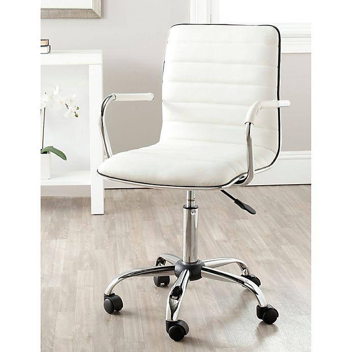 Alternate image 1 for Safavieh Jonika Desk Chair in White